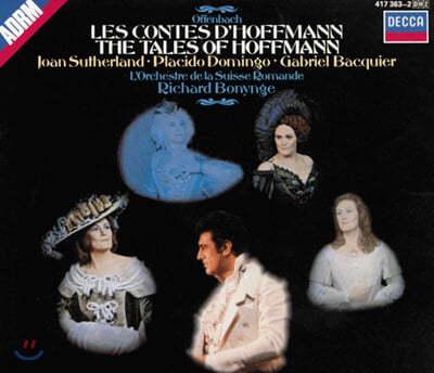 Offenbach : Les Contes D'Hoffmann : SutherlandㆍDomingoㆍBonynge