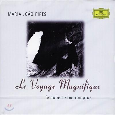 Maria Joao Pires 슈베르트: 즉흥곡 - 마리아 후앙 피레스 (Schubert: Impromptus, Le Voyage Magnifique)