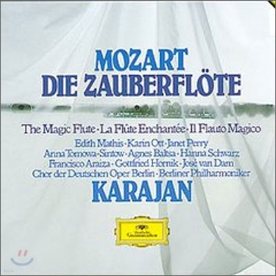 Mozart : Die Zauberflote : Herbert von Karajan