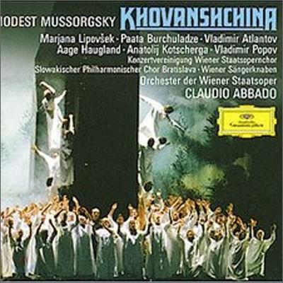 Mussorgsky : Khovanshchina : Claudio Abbado