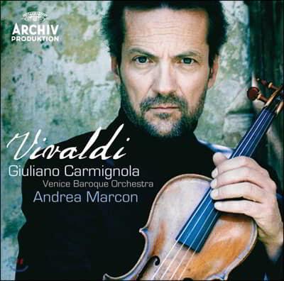 Giuliano Carmignola 비발디: 5개의 바이올린 협주곡 - 까르미뇰라