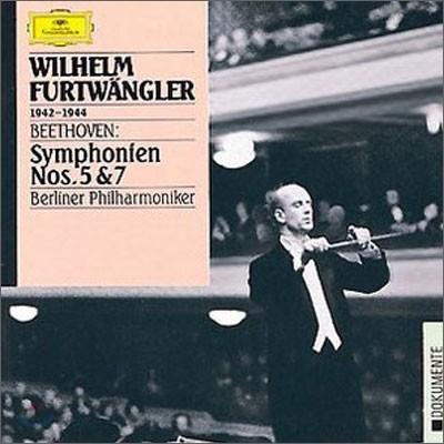 Wilhelm Furtwangler 베토벤 : 교향곡 5ㆍ7번 - 푸르트뱅글러 (Beethoven : Symphonien No.5 & 7)