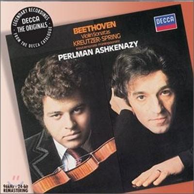 Itzhak Perlman / Vladimir Ashkenazy 베토벤 : 바이올린 소나타 봄ㆍ크로이처 (Beethoven : Violin Sonatas Nos.5 & 9) 이자크 펄만, 블라디미르 아쉬케나지