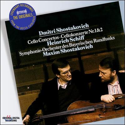 Heinrich Schiff 쇼스타코비치: 첼로 협주곡집 (Shostakovich: Cello Concertos)