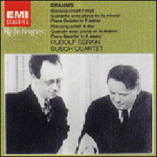 Brahms : Piano Quintet Op.34ㆍPiano Quartet No.2 Op.26 : Rudolf SerkinㆍBusch Quartet