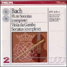 Bach : Flute & Viola Da Gamba Sonatas :  Maxence LarrieuㆍRefael PuyanaㆍMarcal Cervera