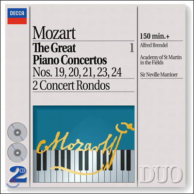 Alfred Brendel 모차르트: 유명 피아노 협주곡집 (Mozart: The Great Piano Concertos)
