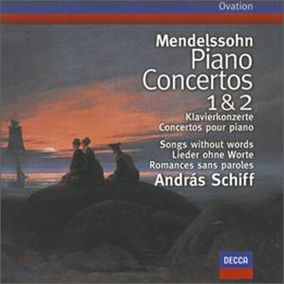 Andras Schiff 멘델스존 : 피아노 협주곡집 1번 2번 (Mendelssohn : Piano Concertos Nos.1 & 2ㆍSongs Without Words)
