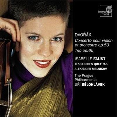 Isabelle Faust 드보르작: 바이올린 협주곡 / 피아노 삼중주 (Dvorak: Violin Concerto Op.53)