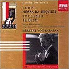 Verdi : Messa Da Requiem / Bruckner : Te Deum : Herbert Von Karajan