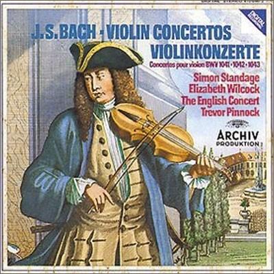 Bach : Violin Concertos Nos.1 & 2ㆍDoppelkonzert BWV 1043 : Trevor Pinnock