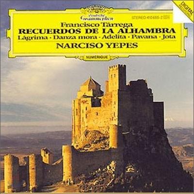 Narciso Yepes 타레가: 기타 연주집 - 나르시소 예페스 (Francisco Tarrega: Guitar Music)