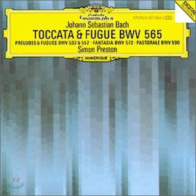 Simon Preston 바흐: 토카타와 푸가 [오르간 연주집] (Bach: Toccata & Fugue BWV 565)
