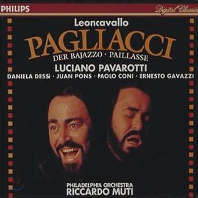 Leoncavallo : I Pagliacci : Luciano PavarottiㆍRiccardo Muti