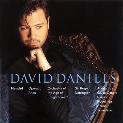David Daniels 헨델: 오페라 아리아 - 데이빗 대니얼스 (Handel: Operatic Arias)
