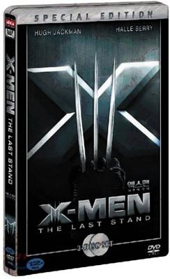 [슈퍼특가] 엑스맨 3 : 최후의 전쟁 (2Disc) : DVD 스틸북