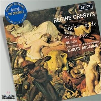 Ernest Ansermet / Regine Crespin 베를리오즈 : 여름밤 / 라벨 : 셰헤라자데 (Berlioz : Nuits D'Ete)