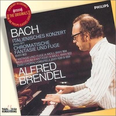 Alfred Brendel 바흐: 이탈리아 협주곡, 반음계 환상곡과 푸가 등 - 알프레드 브렌델 (Bach : Italian Concerto)