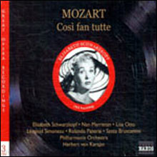 Herbert von Karajan 모차르트: 코지 판 투테 (Mozart: Cosi fan tutte, K. 588)