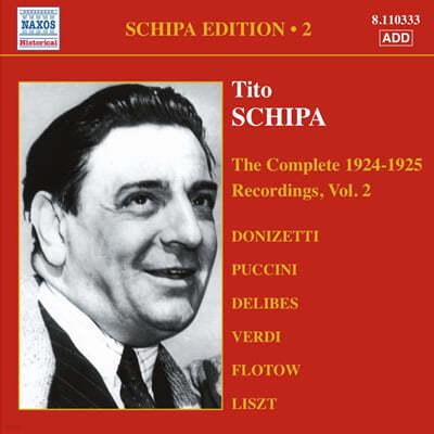Tito Schipa - Complete Victor Recordings Vol. 2 (1924-1925)