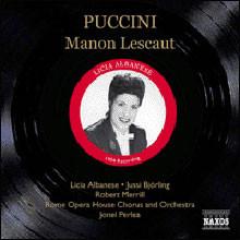 Licia Albanese / Jussi Bjorling 푸치니: 마농 레스코 - 유시 비욜링, 리치아 알바제네 (Puccini: Manon Lescaut)