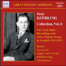Jussi Bjorling - Erik Odde Pseudonym Recordings & Other Popular Works (1931-1935)