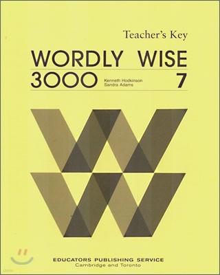 Wordly Wise 3000 Book 7 : Teacher's Key