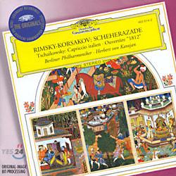 Herbert von Karajan 림스키-코르사코프: 셰헤라자데 / 차이코프스키: 1812 서곡 - 카라얀