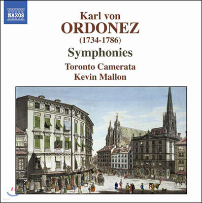 Kevin Mallon 카를 오르도네즈: 교향곡 (Ordonez : Symphonies)