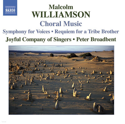 Williamson : Choral Music : Kathryn CookㆍPeter Broadbent