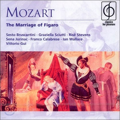 Mozart : The Marriage Of Figaro : Vittorio Gui