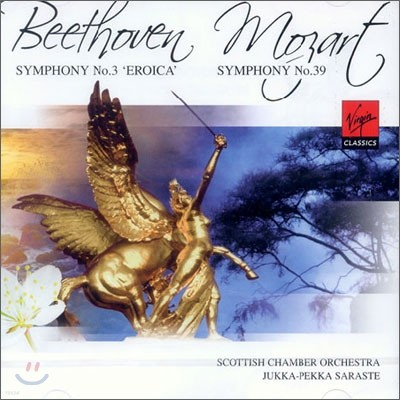 Beethoven : Symphony No.3 'Eroica' / Mozart : Symphony No.39 : Jukka-Pekka Saraste