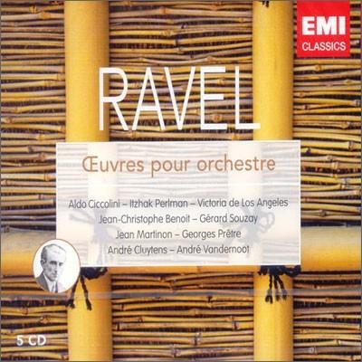 Ravel : Ceuvres Pour Orchestre