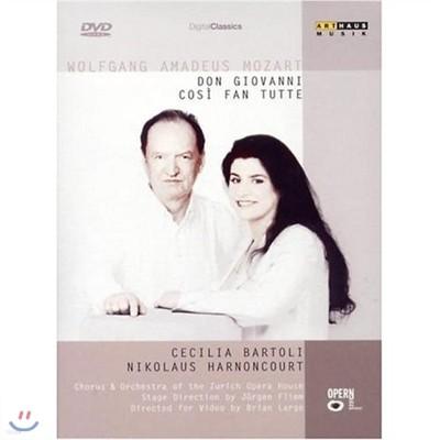 Nikolaus Harnoncourt 모차르트 : 돈 조반니 + 코지 판 투테 (Mozart : Don Giovanni + Cosi Fan Tutte)