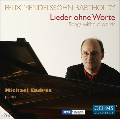 Michael Endres 멘델스존: 무언가 전곡 (Mendelssohn: Songs without Words Books 1-8)