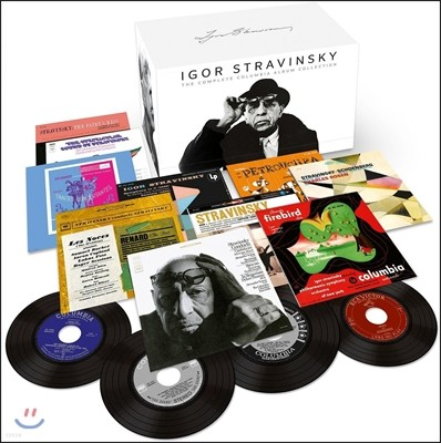 이고르 스트라빈스키 콜럼비아 전집 (Igor Stravinsky: The Complete Columbia Album Collection)