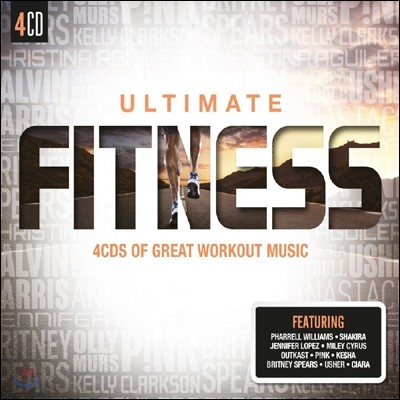 운동 할 때 듣기 좋은 음악 (Ultimate Fitness: 4CDs Of Great Workout Music)