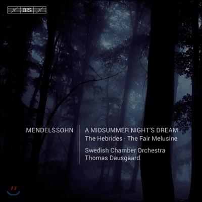 Camilla Tilling / Thomas Dausgaard 멘델스존: 아름다운 멜루지네의 이야기, 한여름밤의 꿈 (Mendelssohn: Fair Melusine Overture, A Middsummer Night's Dream)