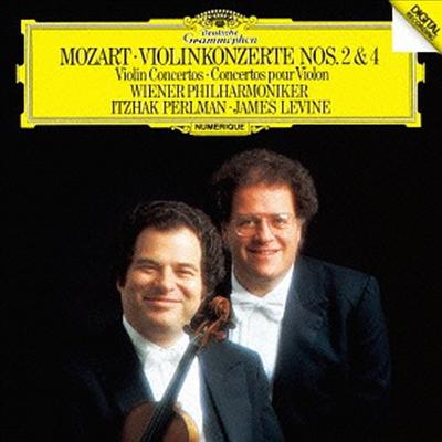 모차르트: 바이올린 협주곡 2, 4번 (Mozart: Violin Concertos Nos.2 & 4) (SHM-CD)(일본반) - Itzhak Perlman