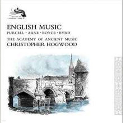크리스토퍼 호스우드 - 영국 중세와 르네상스 음악 (Christopher Hogwood - English Music: Purcell, Arne, Boyce, Byrd) (17CD Boxset) - Christopher Hogwood