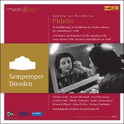 Christel Goltz / Joseph Keilberth 베토벤: 피델리오 (Beethoven: Fidelio)