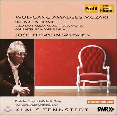 Klaus Tennstedt 모차르트: 신포니아 콘체르탄테 / 하이든: 교향곡 64번 (Mozart: Sinfonia Concertante / Haydn: Symphony No.64)