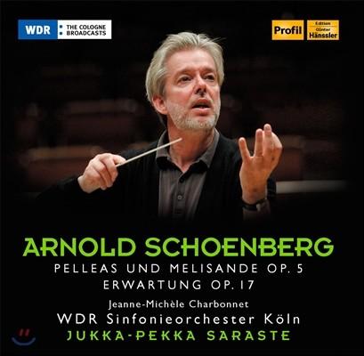 Jukka-Pekka Saraste 아놀드 쇤베르크: 펠레아스와 멜리장드, 고대 (Arnold Schoenberg: Pelleas Und Melisande Op.5, Erwartung Op.17)