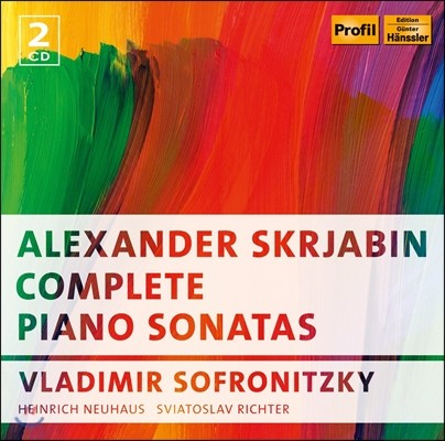 Vladimir Sofronitzky 스크리아빈: 피아노 소나타 전집 (Scriabin: Complete Piano Sonatas)