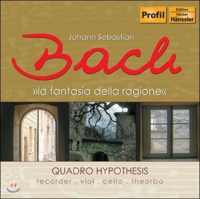 Quadro Hypothesis 콘소트 편성으로 듣는 바흐: 소나타 BWV529, 1027/1039, 1037 (Bach: La Fantasia Della Ragione)