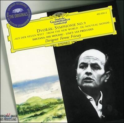 Ferenc Fricsay 드보르작: 교향곡 9번 `신세계로부터` / 스메타나: 몰다우 / 리스트: 전주곡