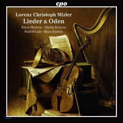 Klaus Mertens 로렌츠 미츨러: 20곡의 가곡과 송가 (Lorenz Christoph Mizler: Lieder, Oden)