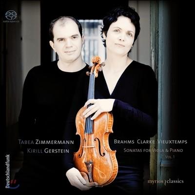 Tabea Zimmermann 브람스 / 클라크 / 비외탕: 비올라 소나타 1집 (Brahms / Rebecca Clarke / Henri Vieuxtemps: Sonatas For Viola & Piano Vol.1)