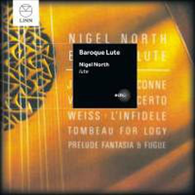 바로크 류트 작품집 - 바이스, 바흐 & 비발디 (Barocke Laute - Weiss, Bach & Vivaldi) - Nigel North