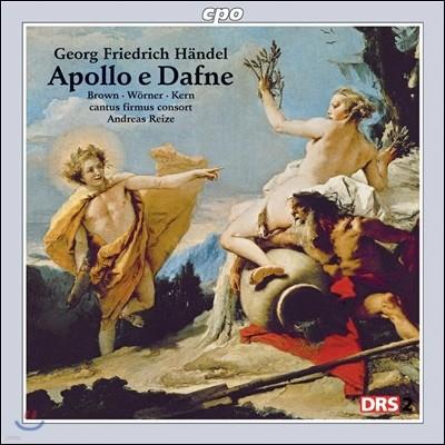 Andreas Reize 헨델: 칸타타 '아폴로와 다프네' (Handel: Apollo e Dafne)